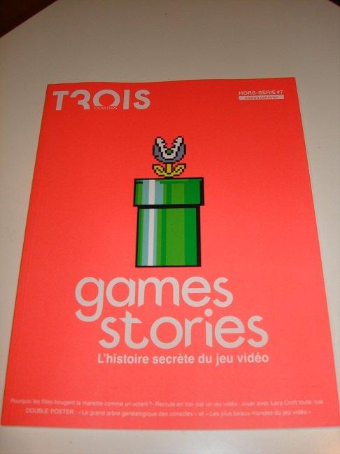 Trois couleurs : hors série spécial Games Stories dans NEWS GS01